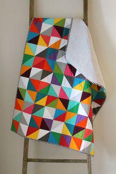 rainbow baby quilt. | Flickr - Photo Sharing!