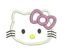 Hello Kitty Applique Design (11)