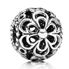 Buy PANDORA Silver Openwork Flower Charm at Hugh Rice Jewellers. Free delivery on Pandora. Charms Pandora, Pandora Beads, Pandora Bracelets, Pandora Jewelry, Charm Jewelry, Pandora Pandora, Cheap Pandora, Silver Bracelets, Fine Jewelry