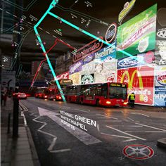 Image depicting the future uses of augmented reality by Keiichi Matsuda