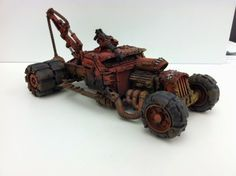 What's On Your Table: Ork Hot Rod Trukks - Faeit 212: Warhammer 40k News and Rumors