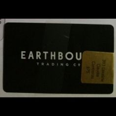 $75 earthbound gift card Got it as a bonus, never used it.. Trying to get a NEW Nintendo 3ds xl. Earthbound Other