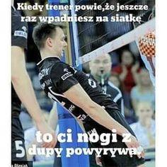 Heh heh heh - Piotr Żyła xD #SMIESZNE #polskiememy #siatkarz #wojtekwłodarczyk #likezalike #follow4follow #humor #siatkówka #volleyball #polishvolleybal #siatka #memysiatkarskie Volleyball Team, Sports Humor, Poland, Baseball Cards, Memes, Funny, Instagram Posts, Sporty, Meme