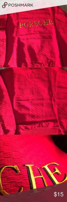 Porsche XL Textured Embroidered Sweater Porsche XL Textured Embroidered Sweater Sweaters Crewneck