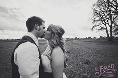 Country Wedding by The Road Photography, via Flickr bride and groom poses