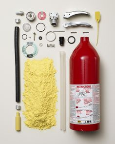 Fire Extinguisher  TODD MCLELLAN MOTION/STILLS INC - • Things Come Apart