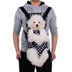 Pet Carrier Backpack Hands-free Portable Adjustable Legs Out Front Breathable Puppy Carrier Backpack Travel Bag for Cats and Small Dogs by Foerteng * Check this awesome product by going to the link at the image. (This is an affiliate link and I receive a commission for the sales)