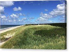 Island Sylt.germany Canvas Print by Marina Usmanskaya