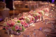 low wedding floral centerpieces - Google Search