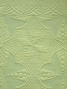 Quilting (back of quilt) by Sampaguita Quilts - 2012