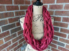 Check out this item in my Etsy shop https://www.etsy.com/listing/254028914/pink-arm-pomegranate-knitted-scarf-pink