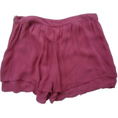 Pre-owned TOPSHOP Shorts (150 SAR) ❤ liked on Polyvore featuring shorts and topshop shorts
