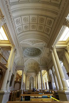 The Great Library, Osgoode Hall - Toronto, Canada
