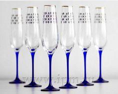 Cobalt Net Champagne Glass Champagne Flutes, Cobalt, Tableware, Glass, Color, Champagne Glasses, Dinnerware, Flute Champagne Glasses, Drinkware