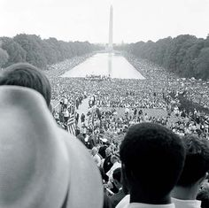Civil Rights Movement March at Washington D.C.