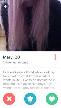 This girl on tinder is going places