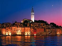 City of Rovinj is located on the Istrian peninsula, and is one of the most famous tourist destinations in Croatia, visited by a large number of guests. Description from adriatic-home.com. I searched for this on bing.com/images