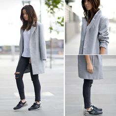 Oversized, J Brand Mercy, New Balance Trainers