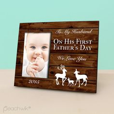 Hey, I found this really awesome Etsy listing at https://www.etsy.com/listing/234252457/happy-first-fathers-day-frame-new-dad