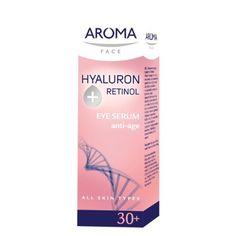 Aroma Face EYE SERUM HYALURON+RETINOL 15ml Aroma Face http://www.amazon.co.uk/dp/B00JN92IK4/ref=cm_sw_r_pi_dp_NTTiub0XF7107