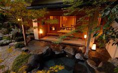 Gora Kadan, tradizionale ryokan giapponese firmato Relais et Châteaux   (Hakone, Giappone)