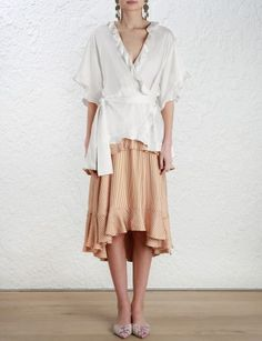Winsome Flutter Robe Top
