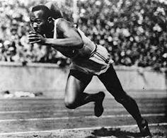 Jesse Owens-in 1936 he won 4 Olympic gold medals, setting world records in the 100 meter dash and the long jump (then known as the running broad jump), the latter standing for decades. The 30 Greatest African American Athletes of All Time 1936 Olympics, Berlin Olympics, Summer Olympics, Jesse Owens, Poses, American Athletes, Olympic Gold Medals, Long Jump, Usain Bolt