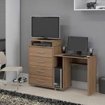 Escrivaninha/Mesa para Computador 4 Gavetas