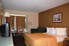 America's Best Value Inn, USA - avg. WiFi client satisfaction rank 4/10. Avg. download 4.98 Mbps, avg. upload 3.31 Mbps. rottenwifi.com