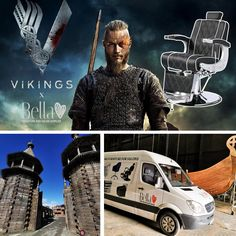 Bella Furniture proudly delivered 16 chairs to Ashford Film Studio in Wicklow Mountains where the new Vikings series will be filmed. They will adapt them to do makeup. We are soooo excited. Bella Furniture, Salon Furniture, Bespoke Furniture, Beauty Nail Salon, Viking Series, Reception Furniture, Film Studio, Hairdresser, Banners