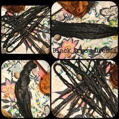 black accent kit crochet dreads #blackarrowdreads