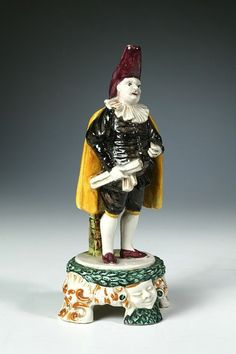 LavishShoestring.com | Figurine        Place of origin:        Italy (probably northern, made)      Date:        1850-1900 (made)      Artist/Maker:        Unknown (production)      Materials and Techniques:        Lead-glazed earthenware