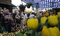 Easter fair in Opole city