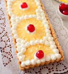 Biscotti, Pineapple, Pie, Fruit, Desserts, Food, Home, Torte, Tailgate Desserts