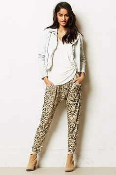 Sequined Harem Pants - anthropologie.com