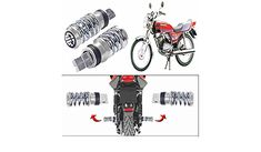 CAPE SHOPPERS Spring Coil Style Bike Foot Pegs Set of 2 for Bajaj Kb 4-S(Chrome): Amazon.in: Car & Motorbike Cape, Chrome, Amazon, Spring, Style, Mantle, Swag, Cabo, Amazons