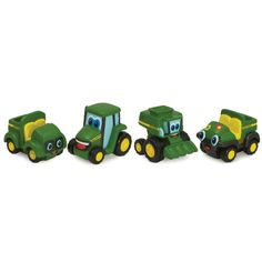 Mini Johnny Tractor & Friends - 2-pack - TBEK37720A