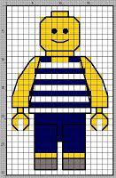 LEGO Cross Stitch Patterns | Hímzett LEGO-figurák - Stitched LEGO figures Cross Stitch For Kids, Mini Cross Stitch, Cross Stitch Charts, Cross Stitch Patterns, Quilt Stitching, Cross Stitching, Perler Patterns, Quilt Patterns, Cot Quilt