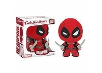 """Your very own cuddly Deadpool! He's plush, but he stands up too! Stands over 6"""" tall with a rotating head. 