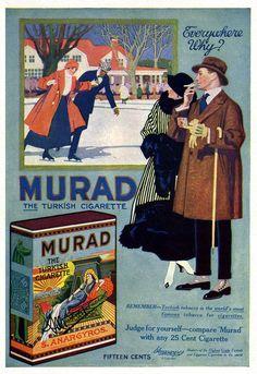 Murad Cigarettes -1917F