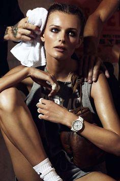 Boxer Shoots The Edita Vilkeviciute Vogue Paris Editorial is Genuinely Sporty