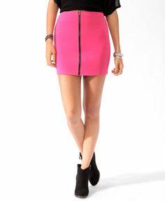 Zippered Bodycon Skirt   FOREVER 21 - ( katy perry skirt!)