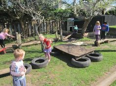 """Obstacle Courses - image shared by Natural Steps Early Childhood Centre ("""",)"""