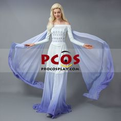 Buy Frozen 2 Elsa Cosplay Costume and get fast shipping on ProCosplay - Best Profession Cosplay Costumes Online Shop Elsa Halloween Costume, Frozen Costume, Cosplay Outfits, Cosplay Costumes, Frozen 2 Elsa Dress, Rapunzel, Elsa Cosplay, Corset Style Tops, Regal Design