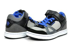 Dream Pairs GLY9297 Boy's Athletic Velcro Strap Light Weight Running High Top Sneakers Shoes Black-Grey-Royal Size 13 - http://all-shoes-online.com/dream-pairs/13-m-us-little-kid-dream-pairs-gly4108-gly9297-boys-33