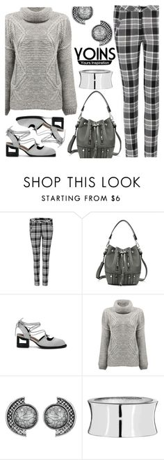 """""""YOINS - Winter Grey"""" by deborah-calton ❤ liked on Polyvore featuring yoins, yoinscollection and loveyoins"""