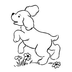 top 30 free printable puppy coloring pages online golden retriever