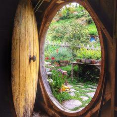 Circular door--why not?