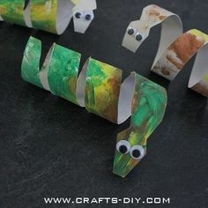 Easy Toddler Crafts using Toilet Paper Rolls by ksrose