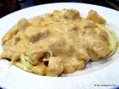 Spicy Parmesan Chicken Alfredo - 101 Cooking For Two